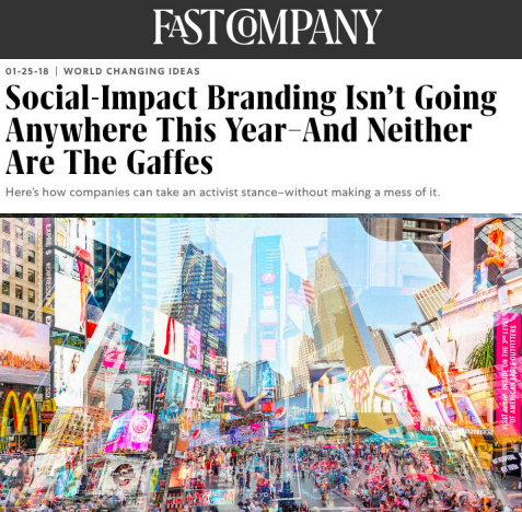 Social-Impact Branding Isn't Going Anywhere This Year–And Neither Are The Gaffes
