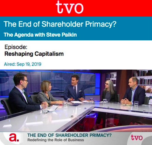 The End of Shareholder Primacy?