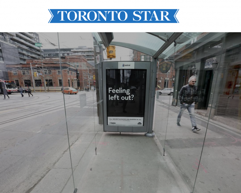 This useless Toronto transit shelter makes a good point — but not necessarily the one the city wants